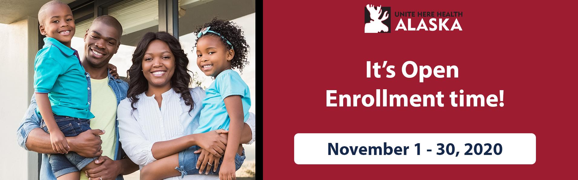 It's open enrollment time!