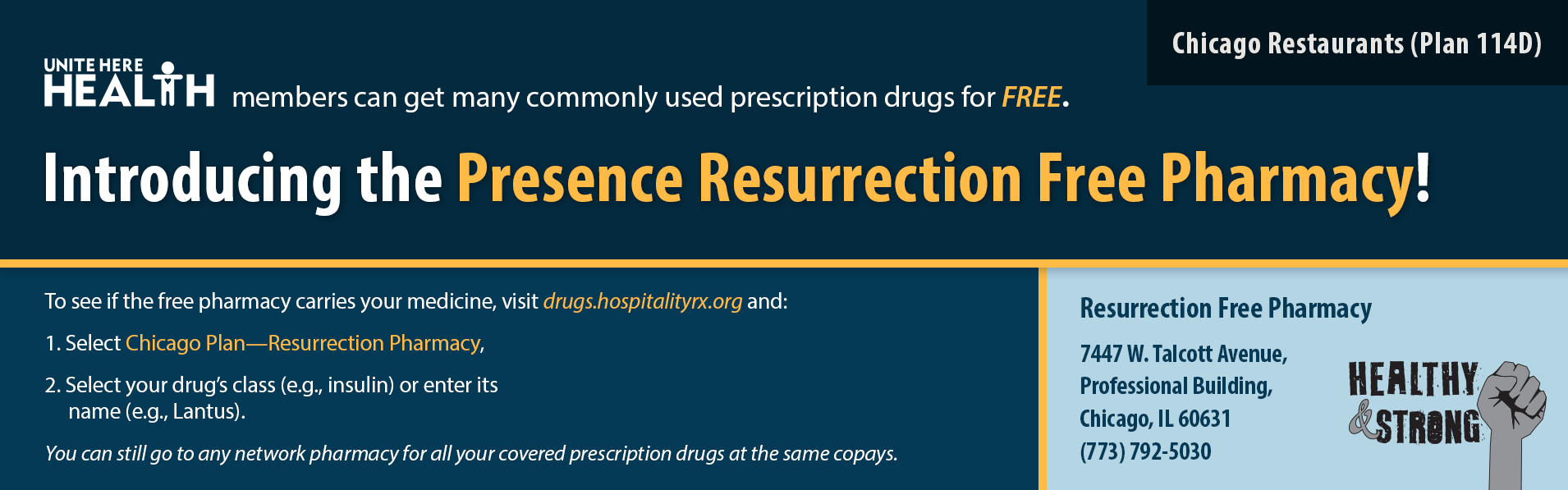 Presence Resurrection Free Pharmacy