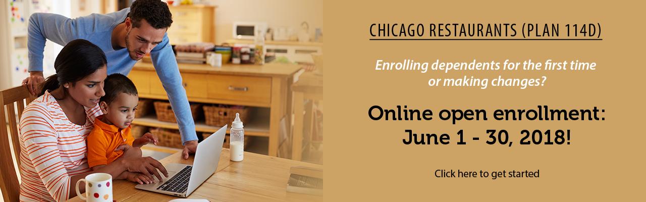 Chicago online enrollment begins June 2018!