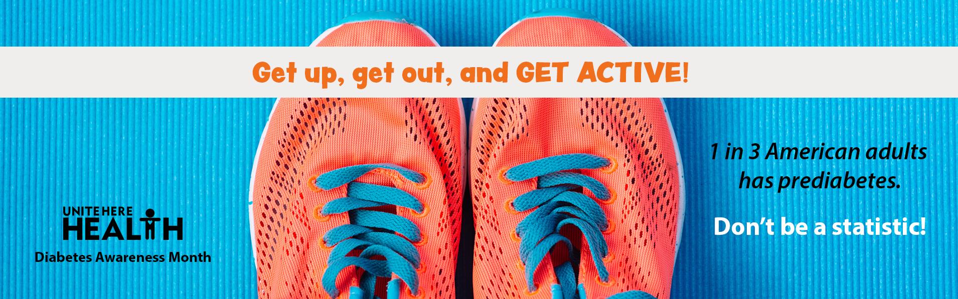 Diabetes Awareness Month - Get Active